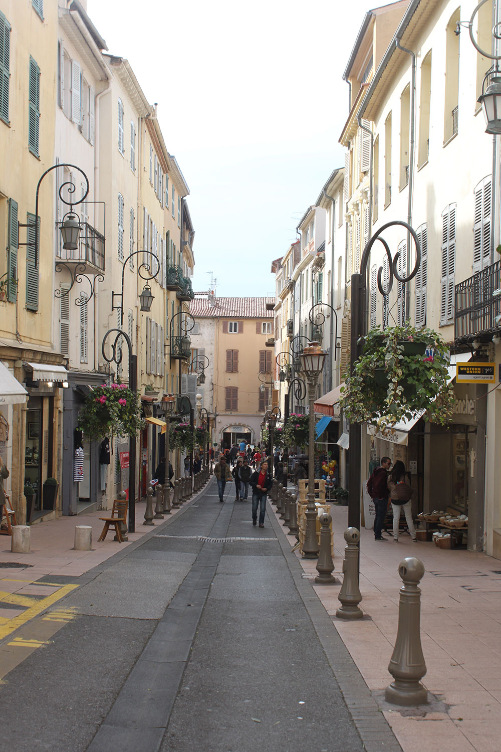 The streets of Antibes