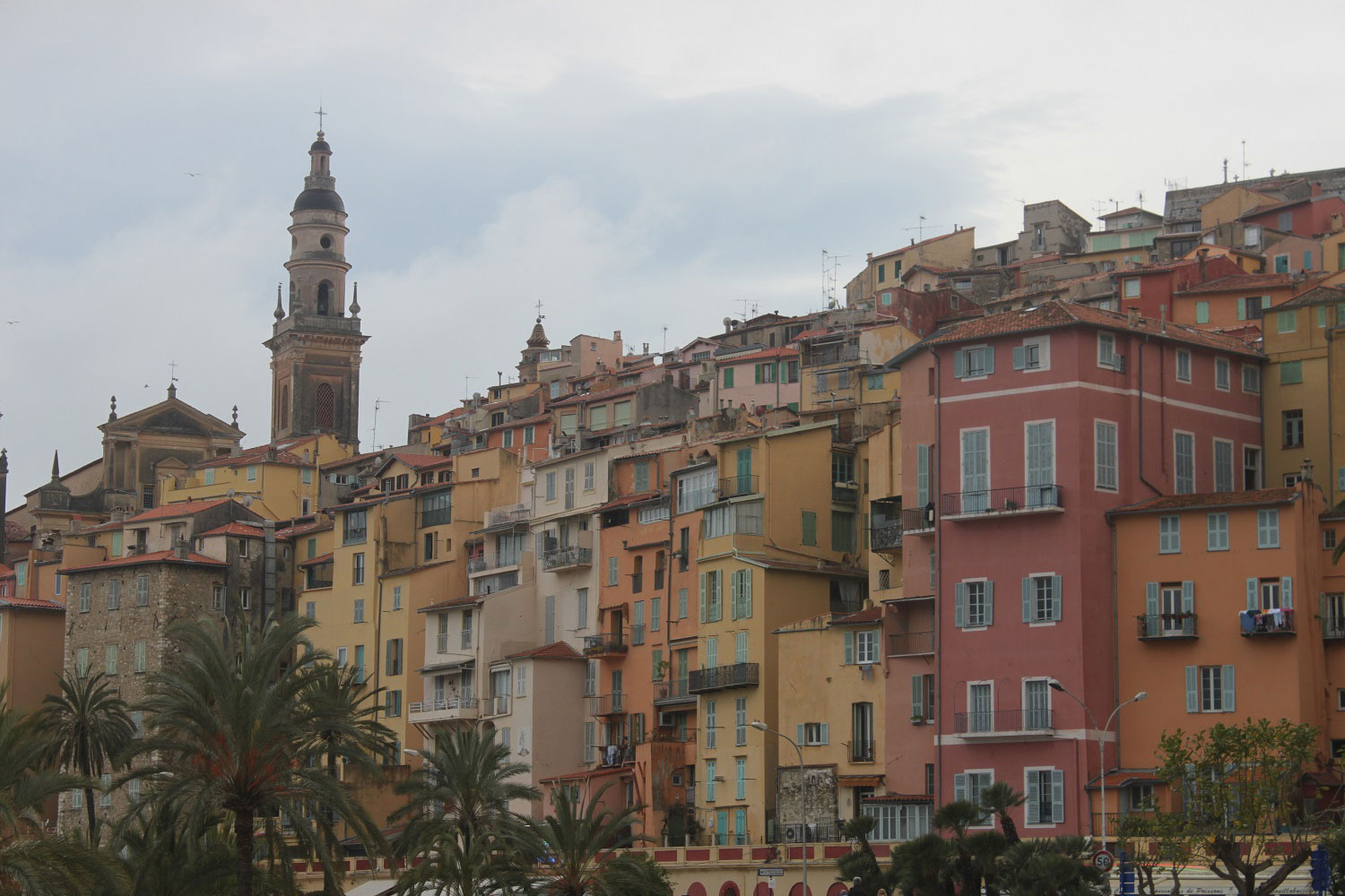 The beautiful colours of Menton