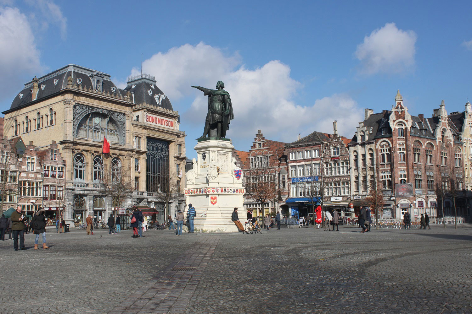 The Markt in Ghent