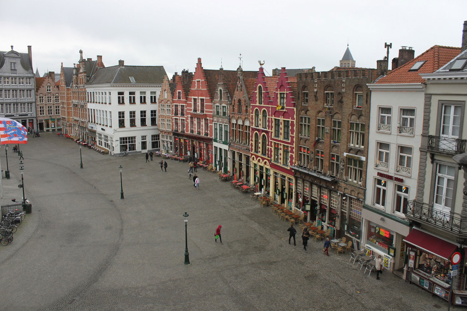 The main square in Bruges