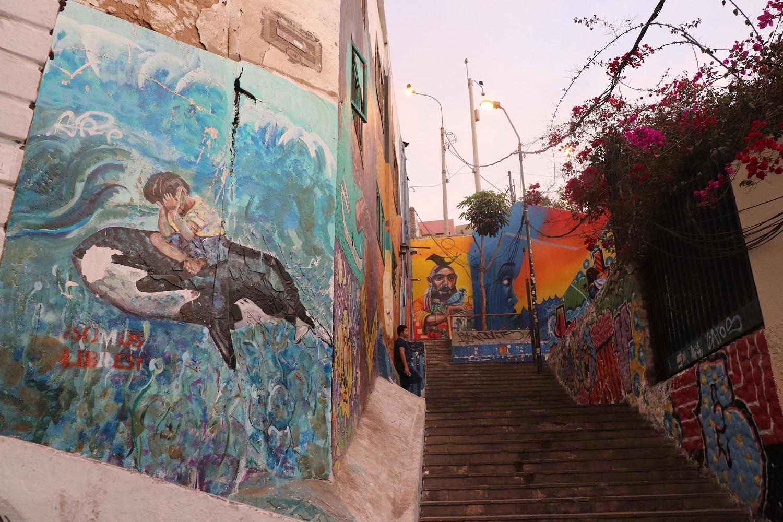 Barranco street art in Lima