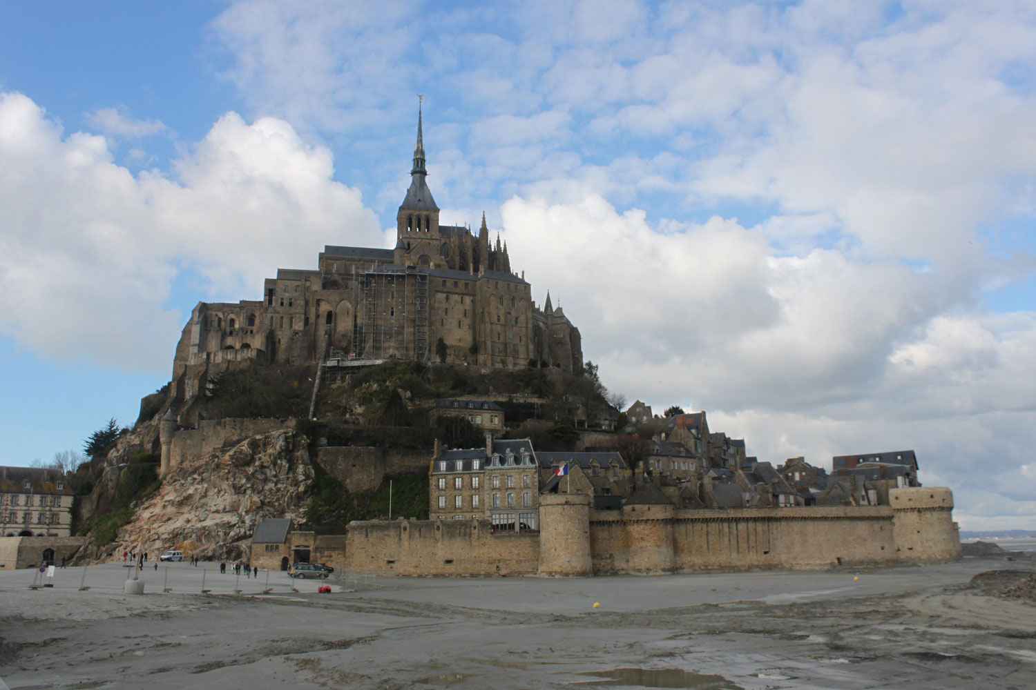 View of Mont St-Michel