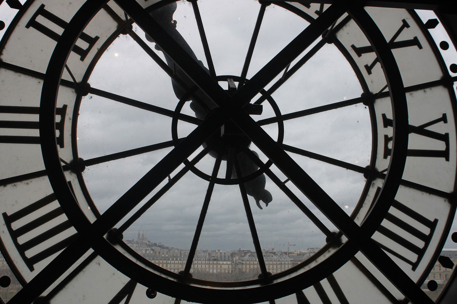 The clock inside the Musee d'Orsay