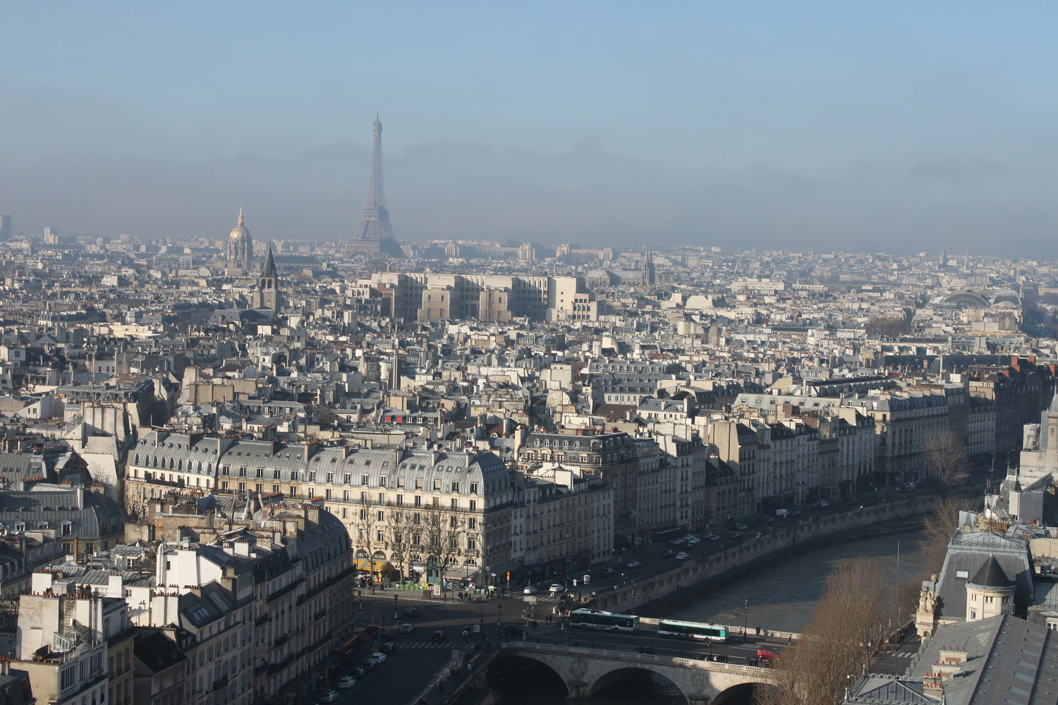 The view from Notre-Dame