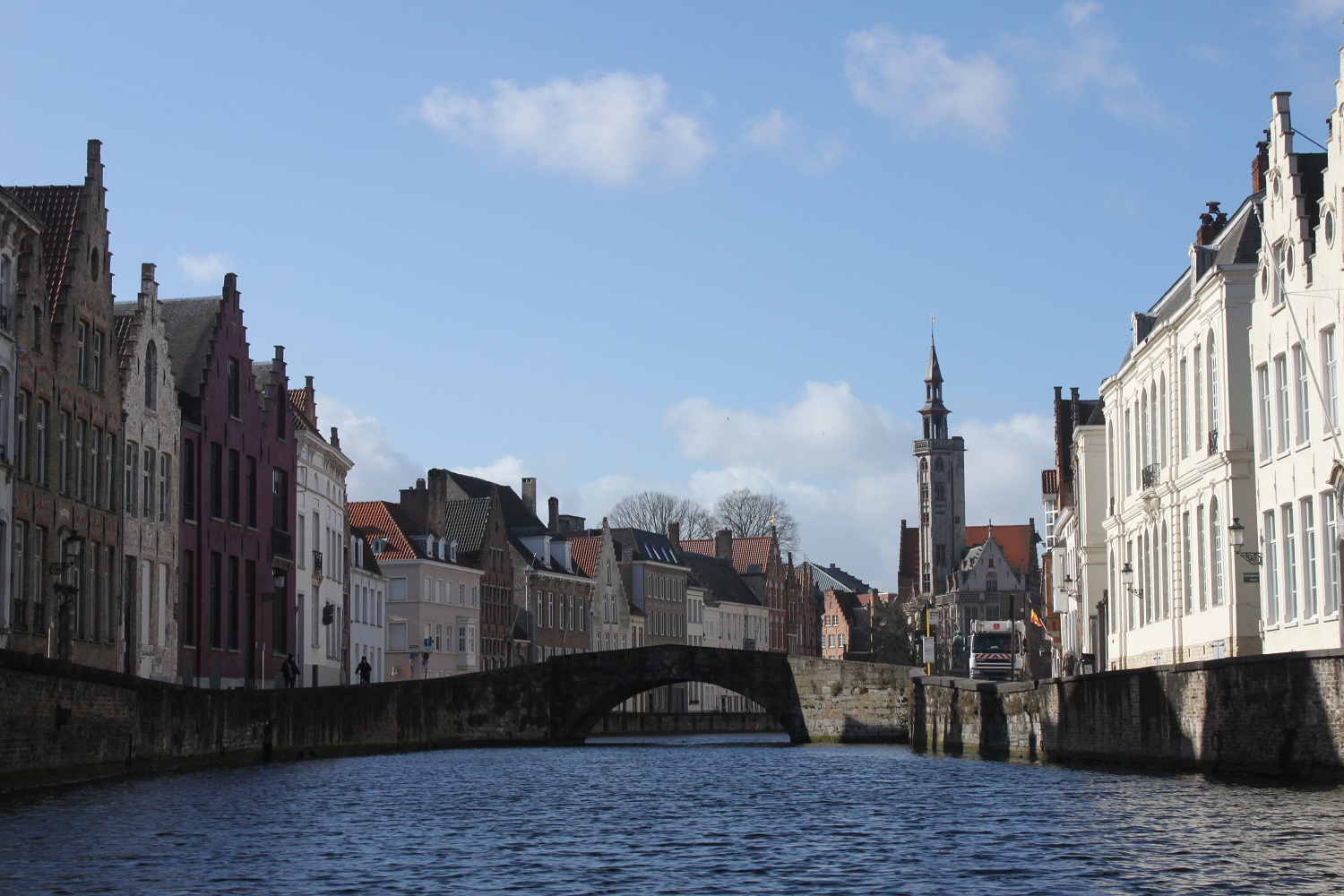 Canal View of Bruges, Belgium