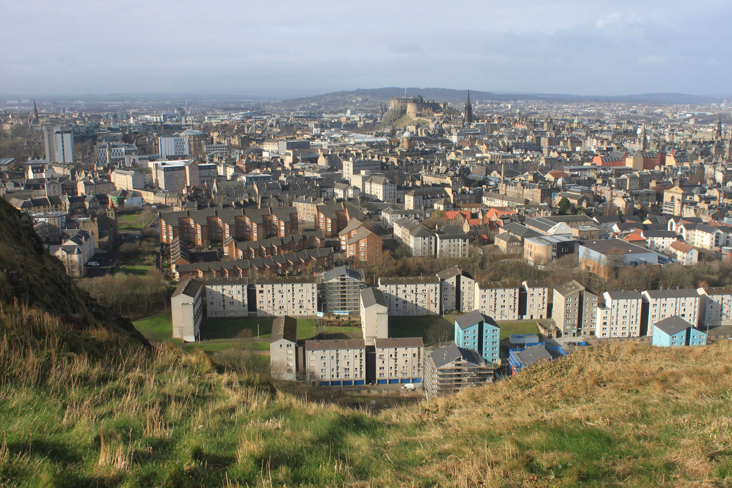 View from King Arthur's Seat