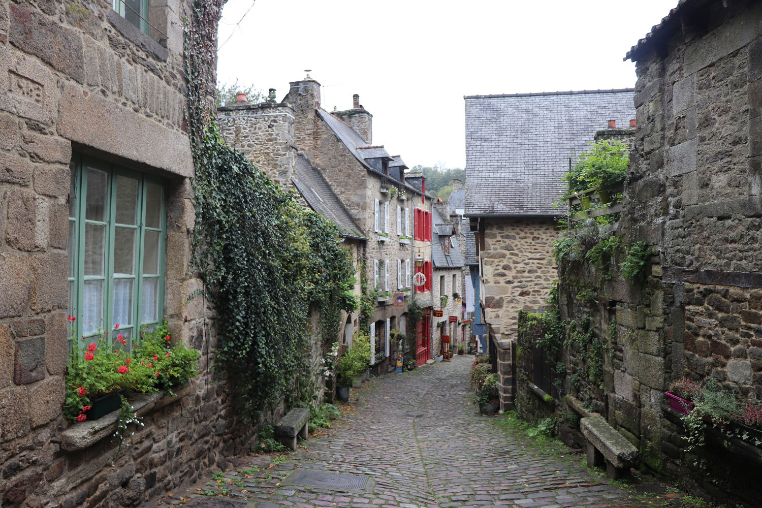The streets of Dinan