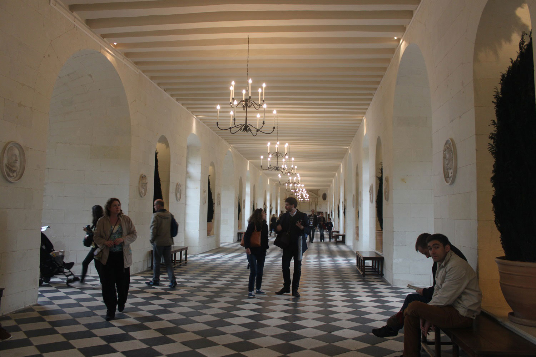 Inside Chateau de Chenonceau