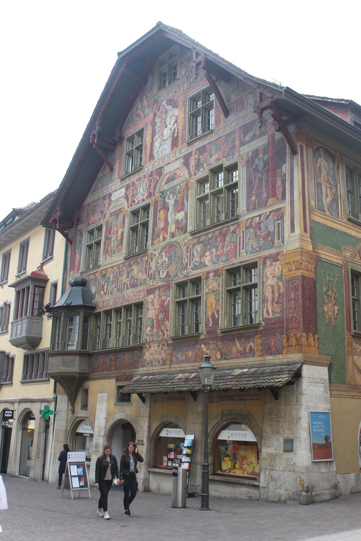 Haus zum Ritter, Schaffhausen, Switzerland