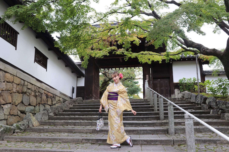 Renting a Kimono with Yumeyakata