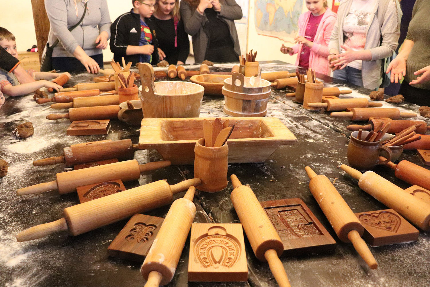 Baking Gingerbread in Torun