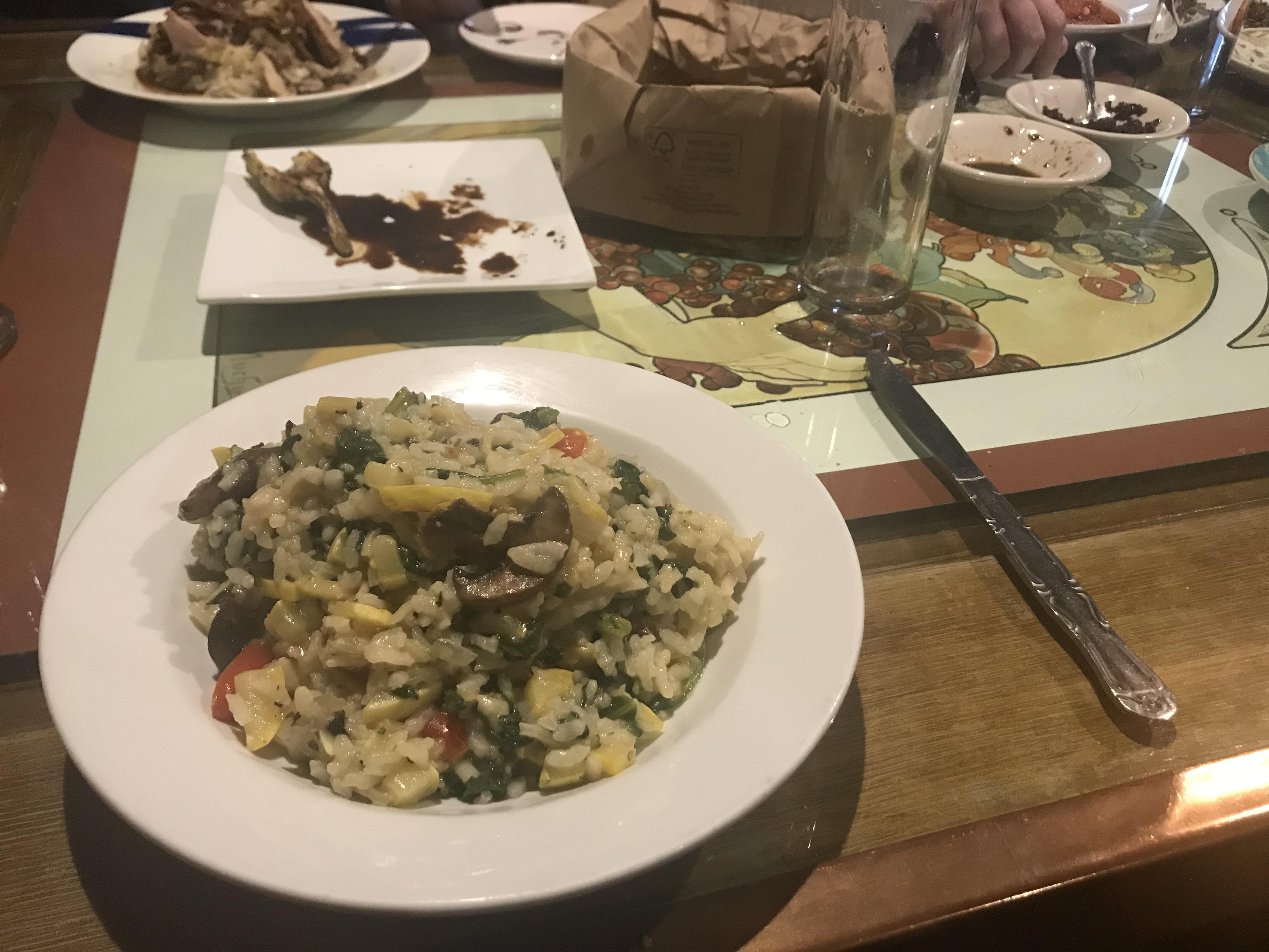 Risotto at Germano's Piattini