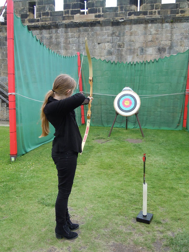 Archery at Alnwick Castle