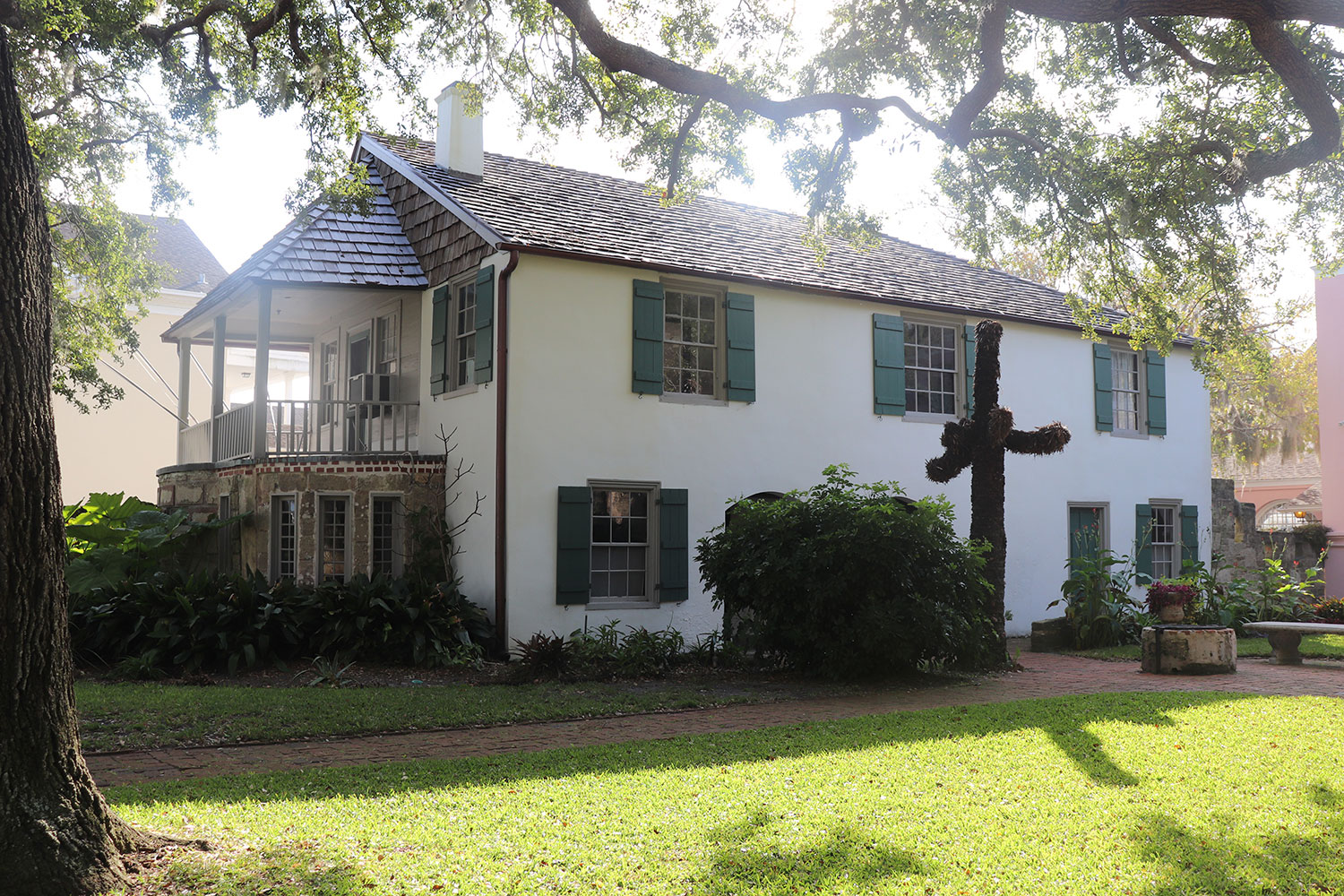 The Gonzalez-Alvarez House in St. Augustine