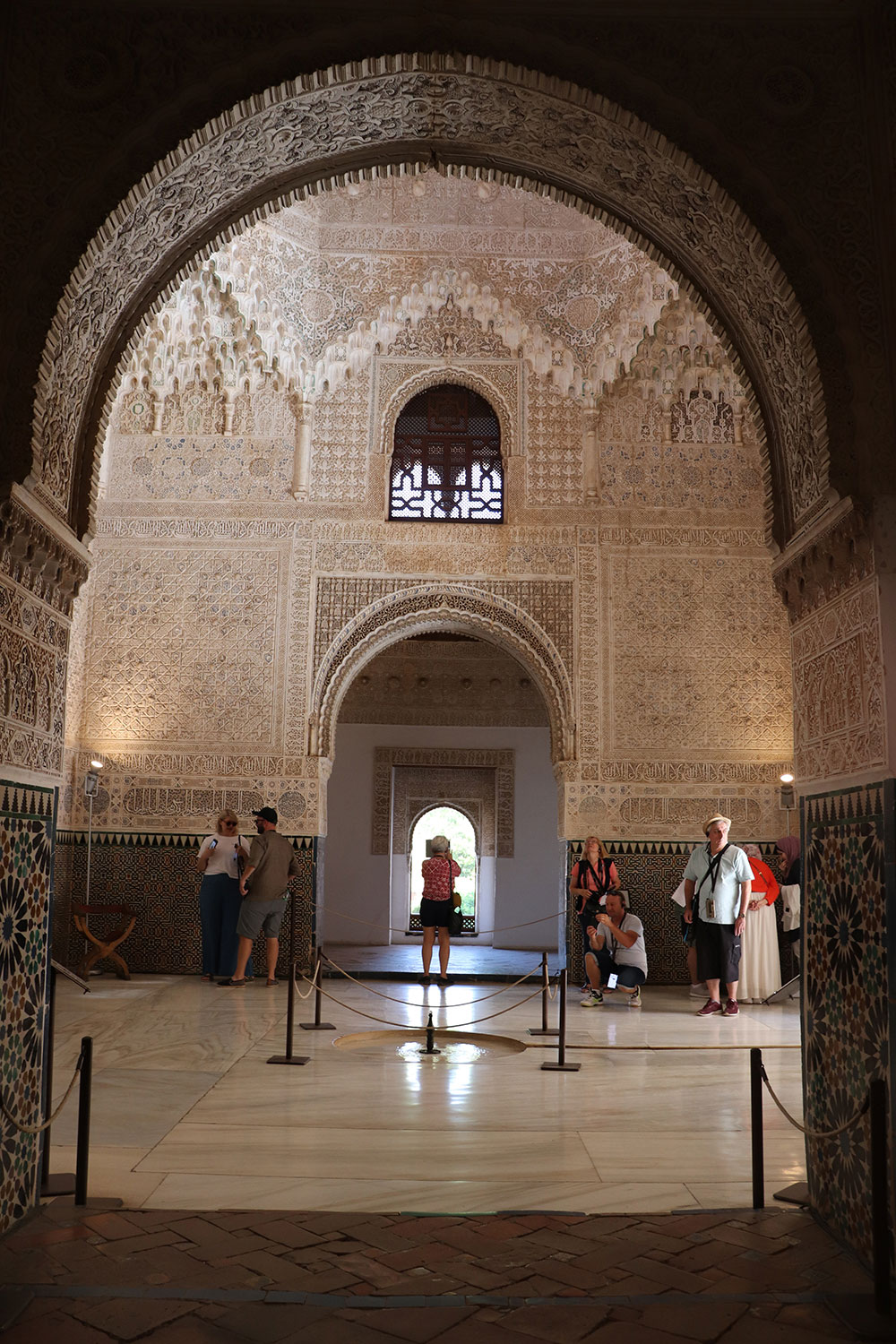 Hall of the Two Sisters, Alhambra