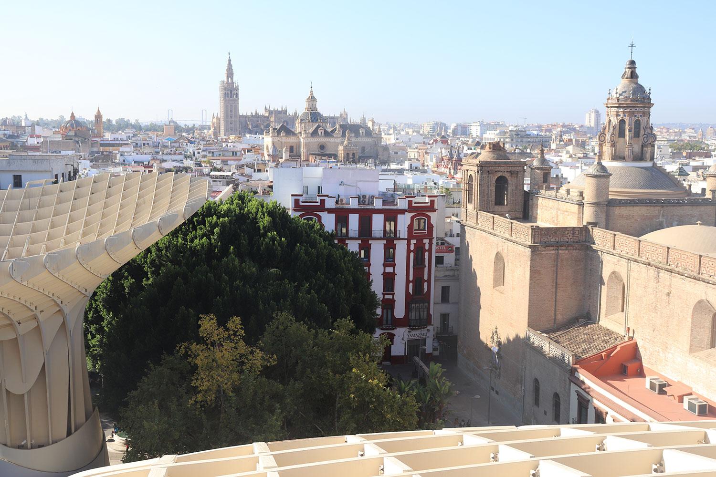 View from Las Setas, Seville