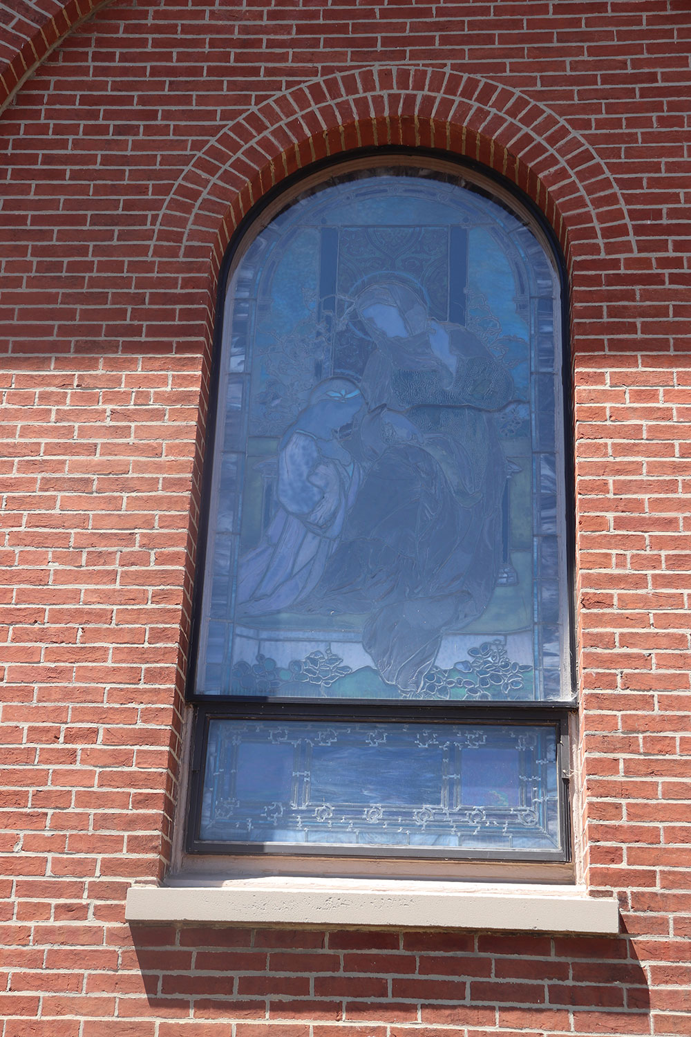 St. Anne's Parish Tiffany Stained Glass Window, Annapolis