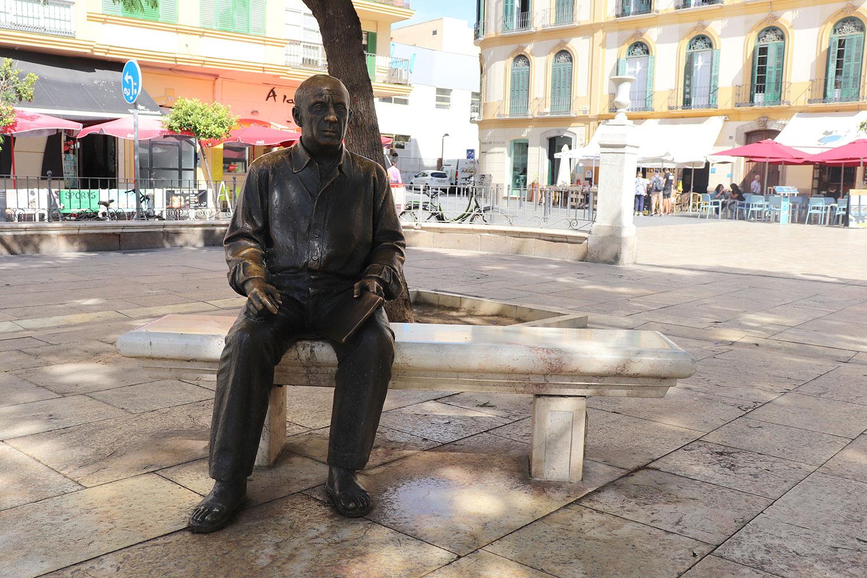 Pablo Picasso in Malaga