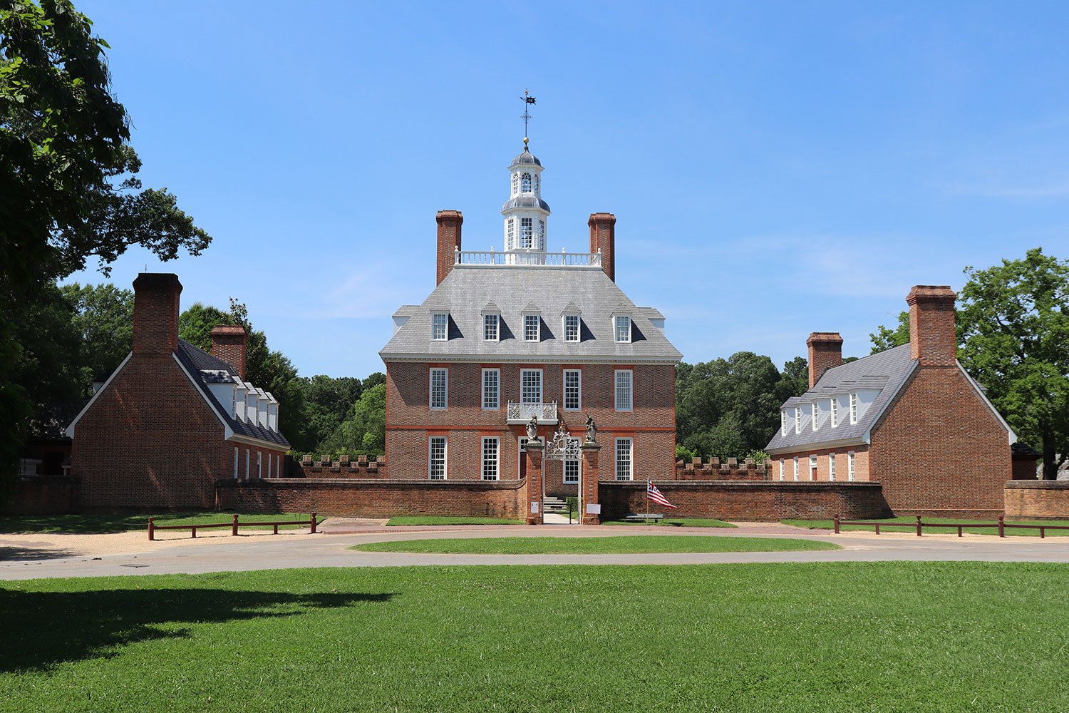 Governor's Mansion, Williamsburg, Virginia