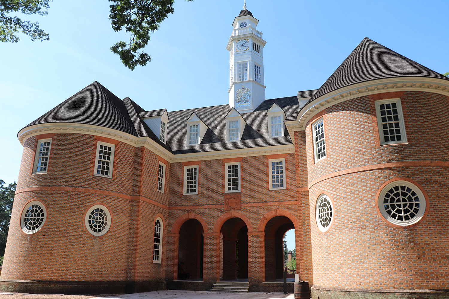 Capitol Building, Williamsburg, Virginia