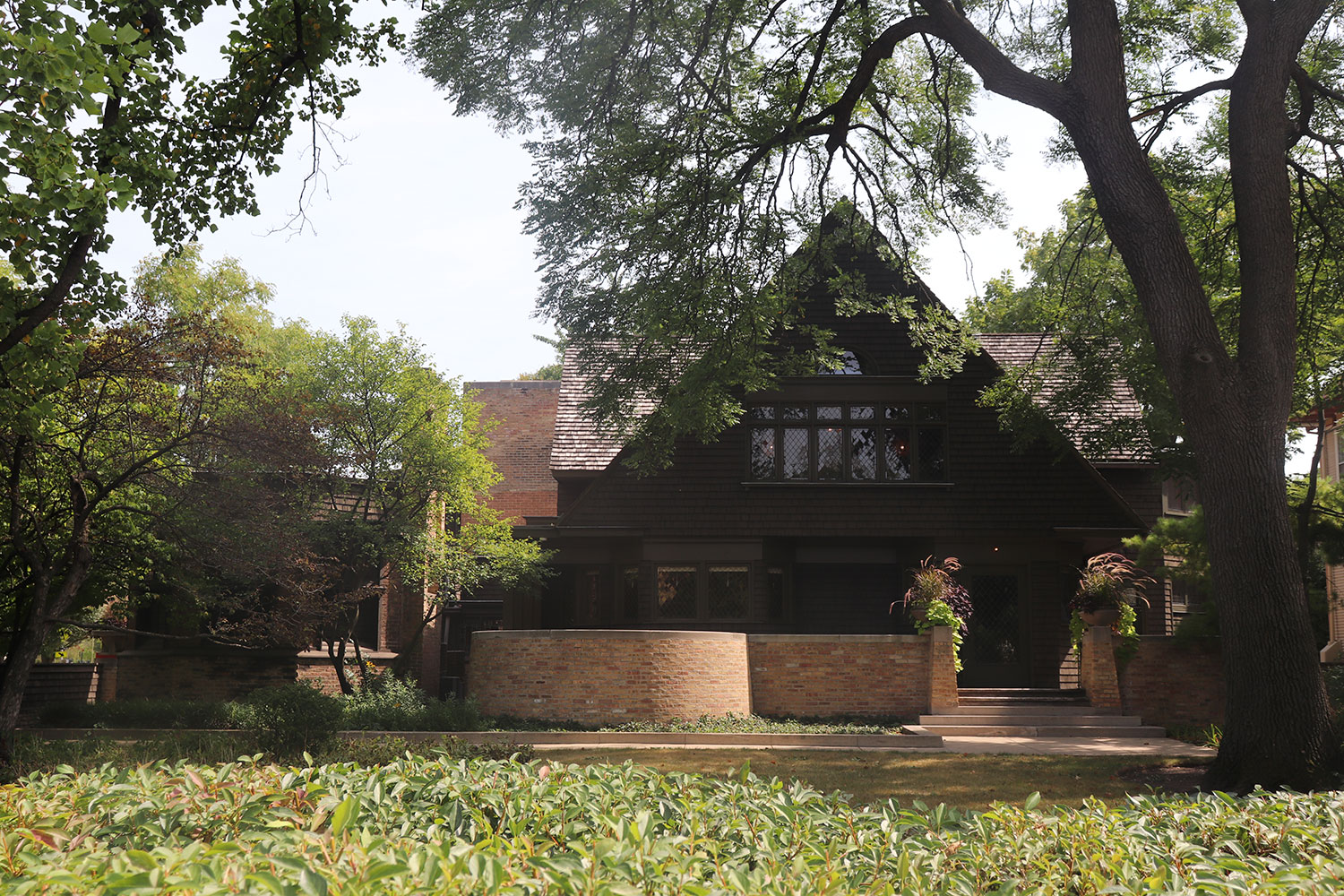 Frank Lloyd Wright House and Studio, Oak Park, Illinois